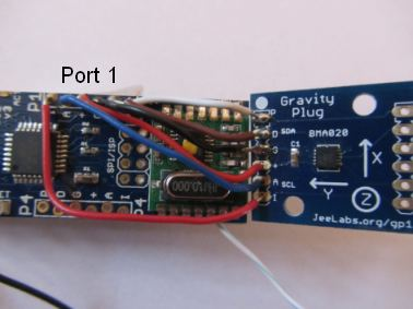 prototype with JeeNodeUSB