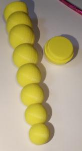 Chain of Ball Vibrator Design