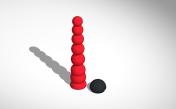 many balls body interaction vibrator development board